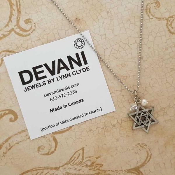 Star of David Pendant Necklace