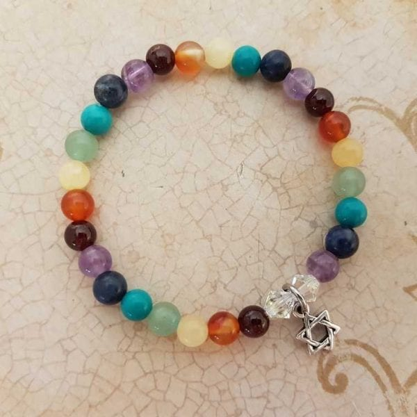 Star-of-David Chakra Bracelet